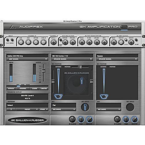 Audiffex Gallien-Krueger Amp 2 Pro Software Download
