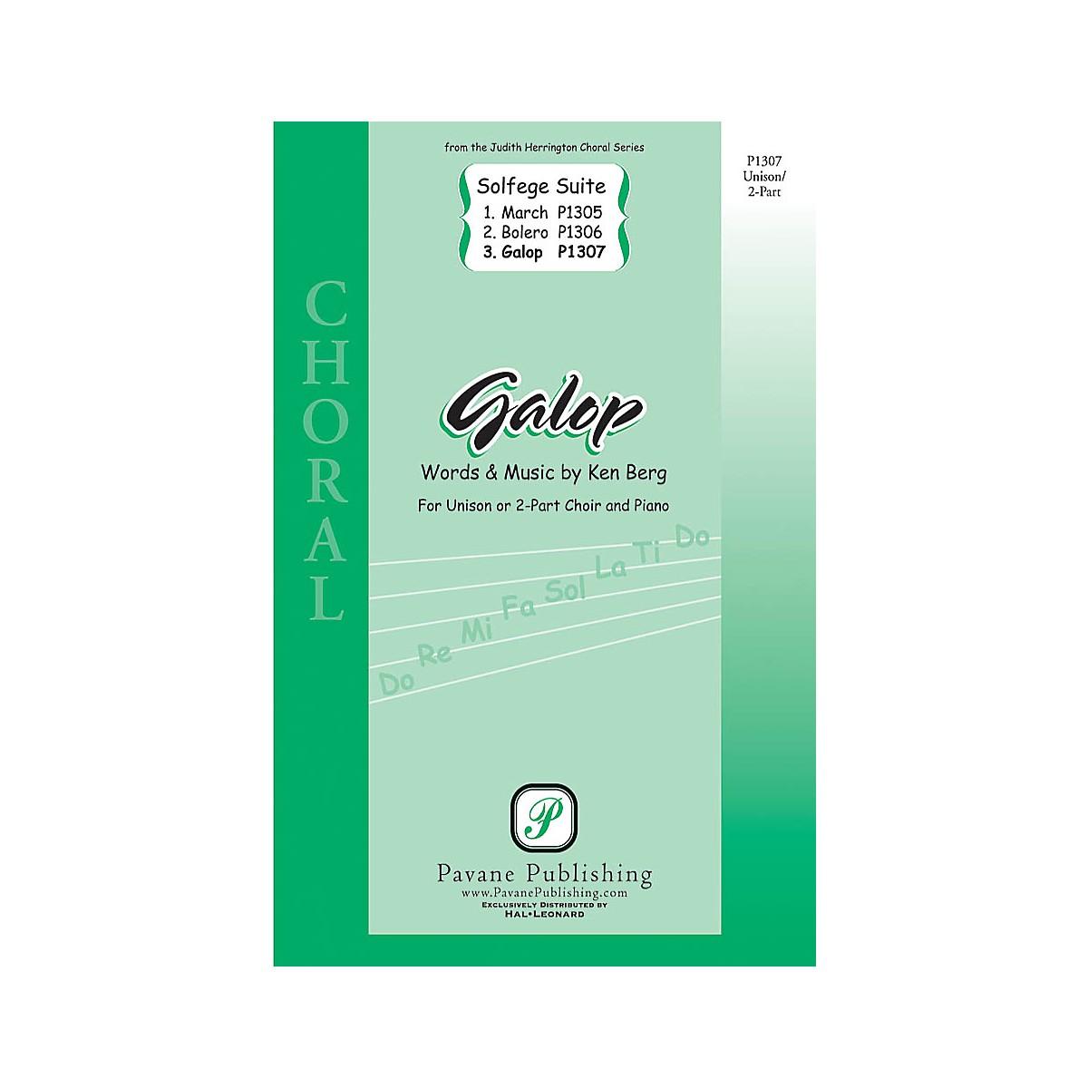 Pavane Galop (from Solfege Suite) UNIS/2PT composed by Ken Berg