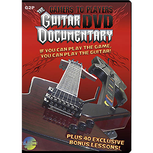 MJS Music Publications Gamers To Players Guitar Documentary DVD plus 40 bonus lessons