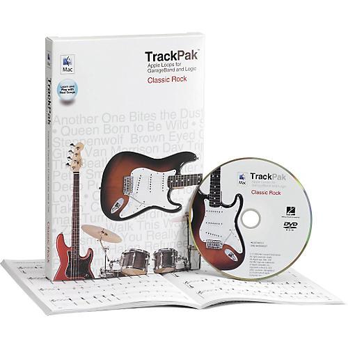 Hal Leonard GarageBand Classic Rock TrackPak (Book/DVD-ROM)