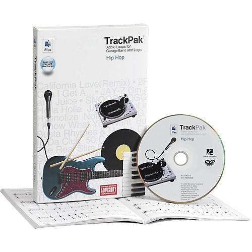 Hal Leonard GarageBand Hip Hop TrackPak (Book/DVD-ROM)