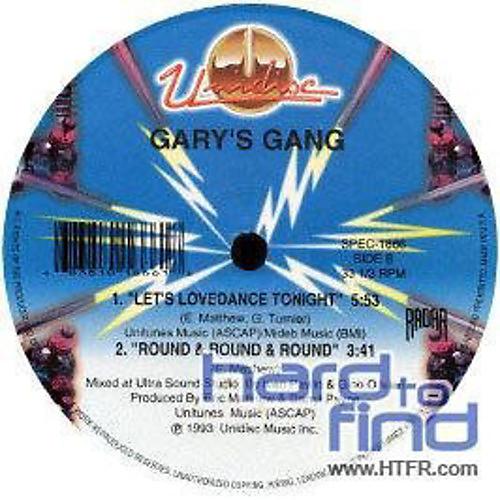 Alliance Gary's Gang - Keep on Dancin/Lets Lovedance Tonight