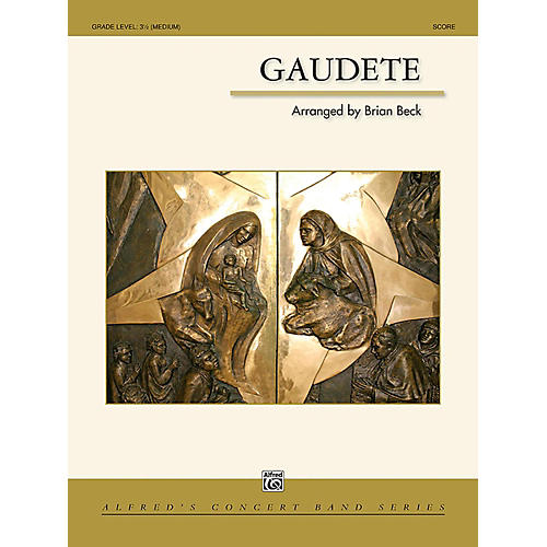 Alfred Gaudete Concert Band Grade 3.5 (Medium)