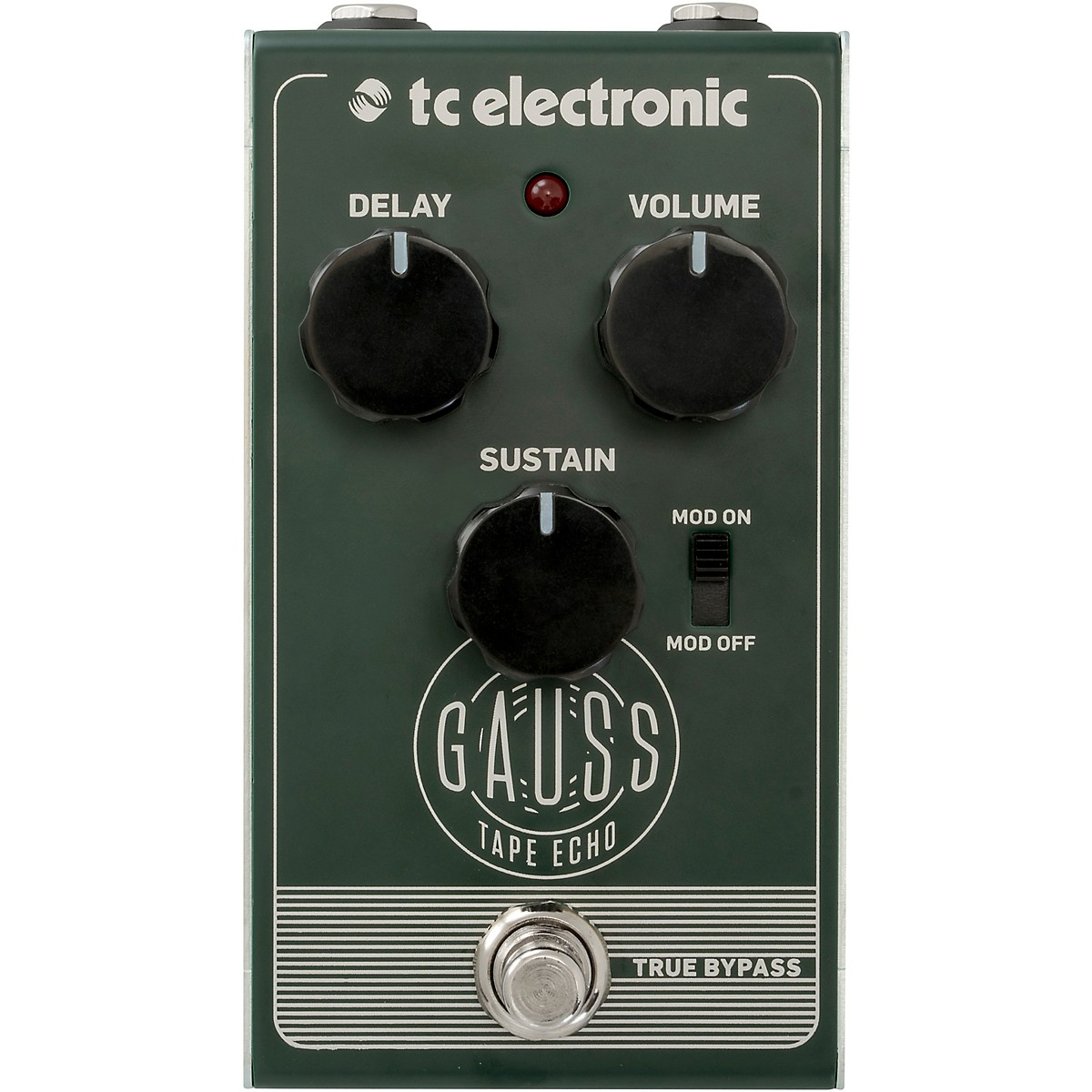 TC Electronic Gauss Echo Effects Pedal