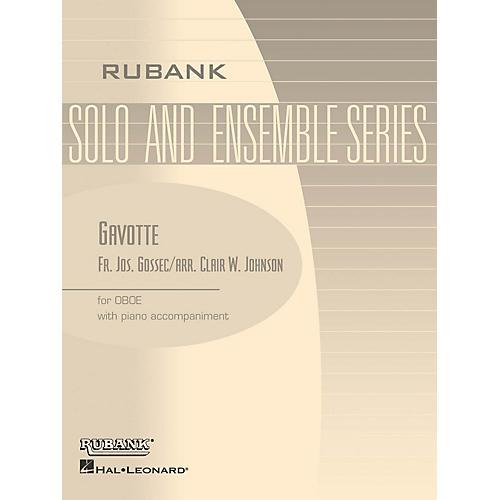 Rubank Publications Gavotte (Oboe Solo with Piano - Grade 1.5 (opt. 2.5)) Rubank Solo/Ensemble Sheet Series