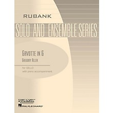 Rubank Publications Gavotte in G Rubank Solo/Ensemble Sheet Series Softcover Arranged by G. Aller