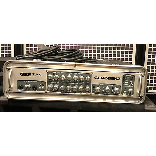 Genz Benz Gbe750 Bass Amp Head