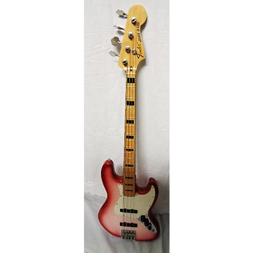 used fender geddy lee signature jazz bass electric bass guitar candy red burst guitar center. Black Bedroom Furniture Sets. Home Design Ideas