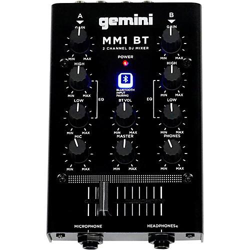 Gemini Gemini MM1BT 2 Channel Mixer with Bluetooth Input