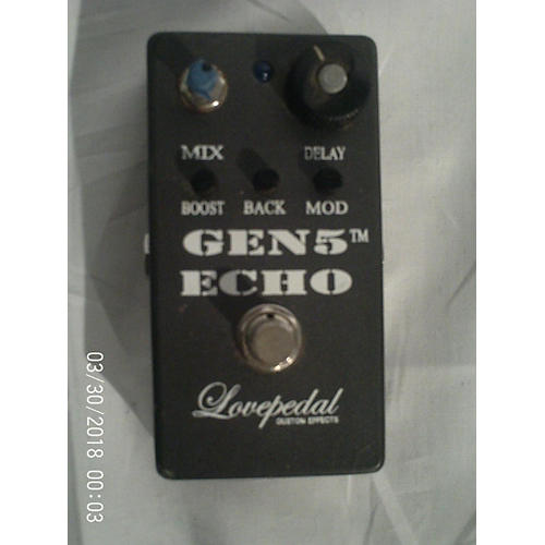Lovepedal Gen5 Echo Delay Effect Pedal