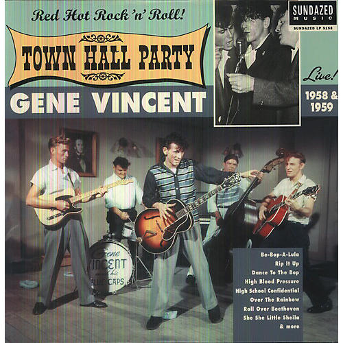 Alliance Gene Vincent - Live At Town Hall Party 1958 and 1959