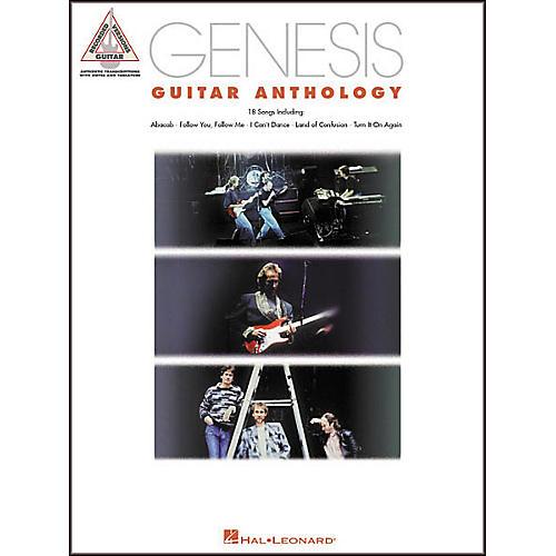 Hal Leonard Genesis Guitar Anthology Guitar Tab Book