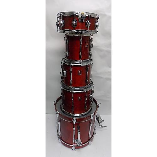 used premier genista drum kit red guitar center. Black Bedroom Furniture Sets. Home Design Ideas