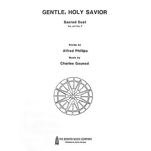 Music Sales Gentle Holy Savior SA