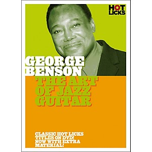 Music Sales George Benson: The Art of Jazz Guitar DVD by Music Sales