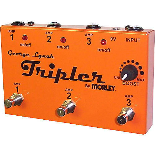 Morley George Lynch Tripler Pedal - Signed