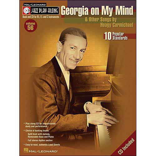 Hal Leonard Georgia On My Mind & Other Songs By Hoagy Carmichael Book/CD Volume 56