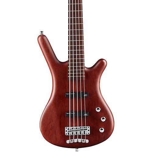 Warwick German Pro Series Corvette Bubinga Passive 5-String Electric Bass Guitar