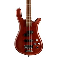 German Pro Series Streamer LX Electric Bass Guitar Burgundy Red