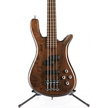 German Pro Series Streamer LX Electric Bass Guitar Nirvana Black Oil
