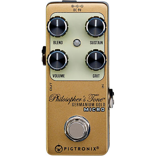 Pigtronix Germanium Gold Compressor Micro Effects Pedal
