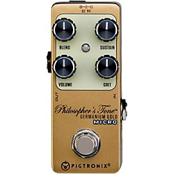 Germanium Gold Compressor Micro Effects Pedal