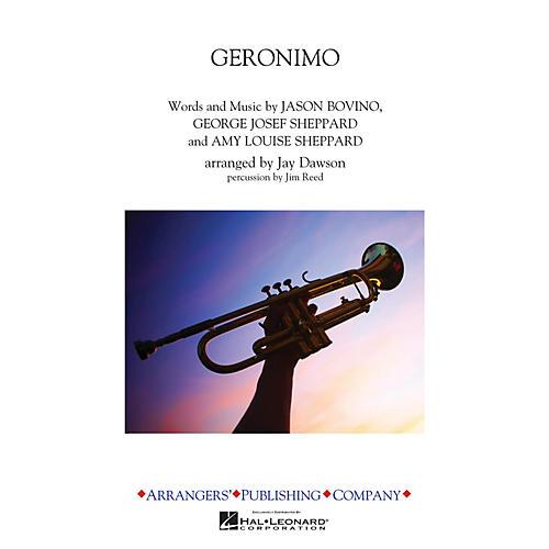 Arrangers Geronimo Marching Band Level 3 by Sheppard Arranged by Jay Dawson
