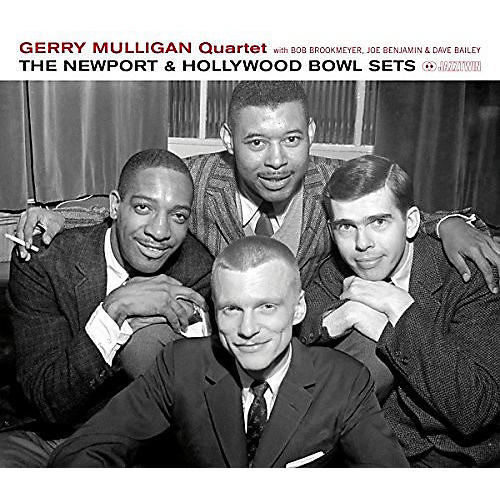 Alliance Gerry Mulligan Quartet - Newport & Hollywood Bowl Sets
