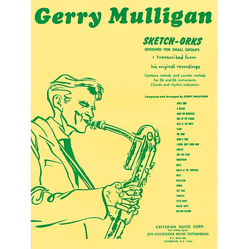 Hal Leonard Gerry Mulligan Sketch-Orks Book 1 For E Flat And B Flat Instruments
