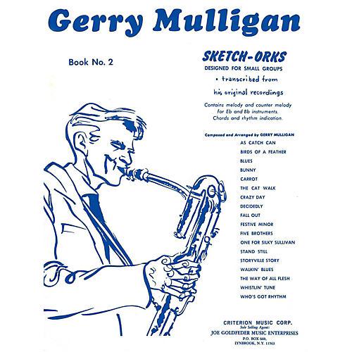 Hal Leonard Gerry Mulligan Sketch-Orks Book 2 For E Flat And B Flat Instruments