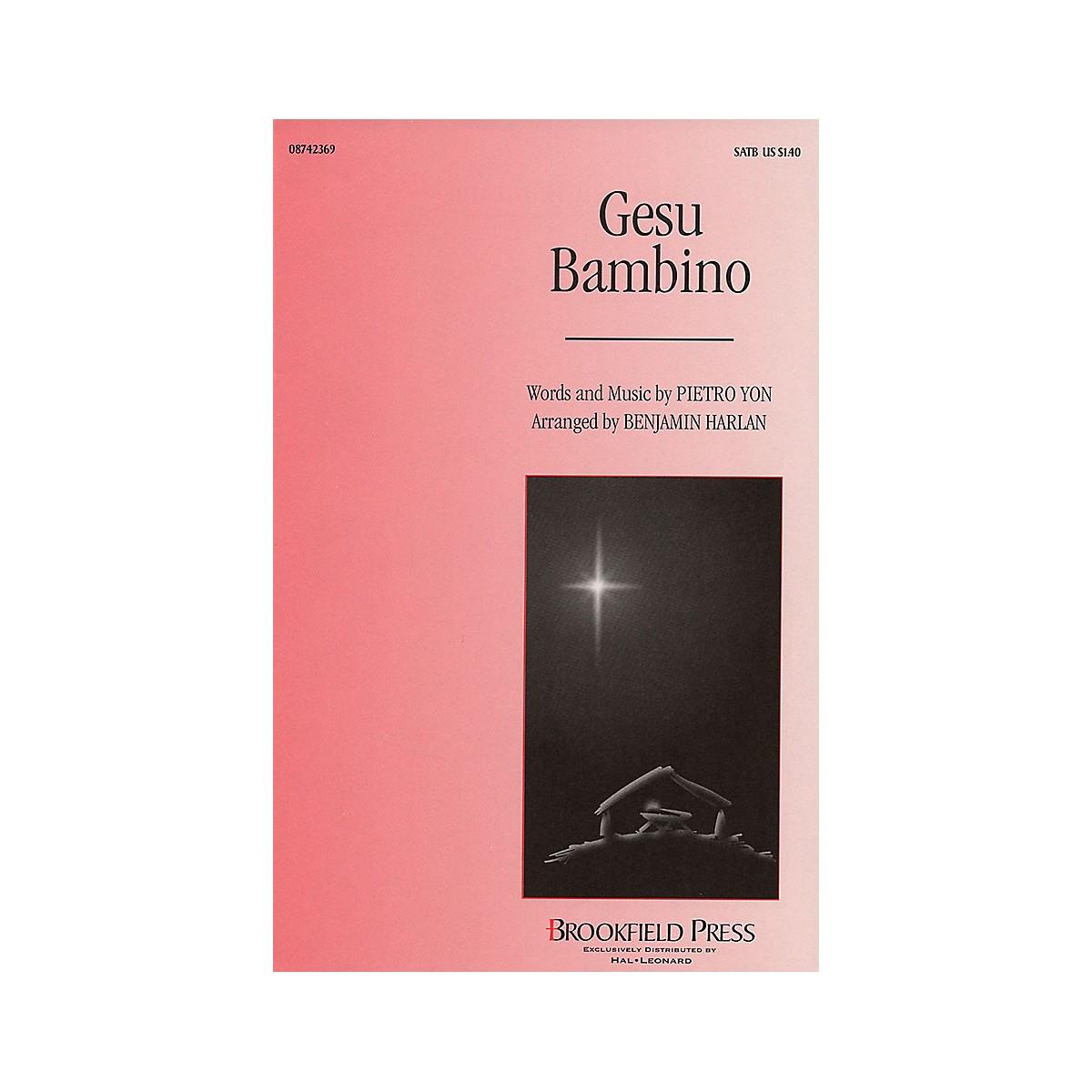 Brookfield Gesu Bambino SATB arranged by Benjamin Harlan