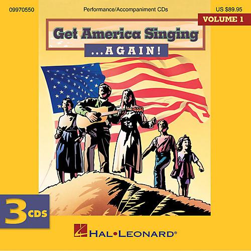 Hal Leonard Get America Singing ...Again! Volume 1 Complete CD Set Volume One CD Set Composed by Various