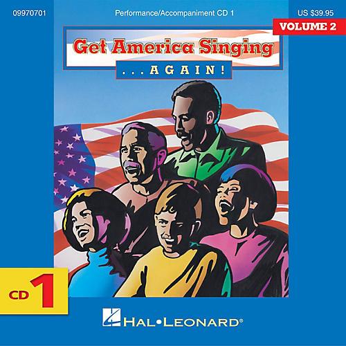 Hal Leonard Get America Singing Again Vol 2 Complete 3-CD Set VOL 2 CD SET Composed by Various