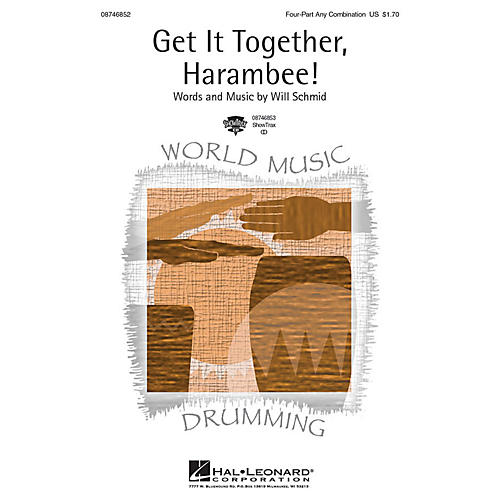 Hal Leonard Get It Together, Harambee! ShowTrax CD Composed by Will Schmid