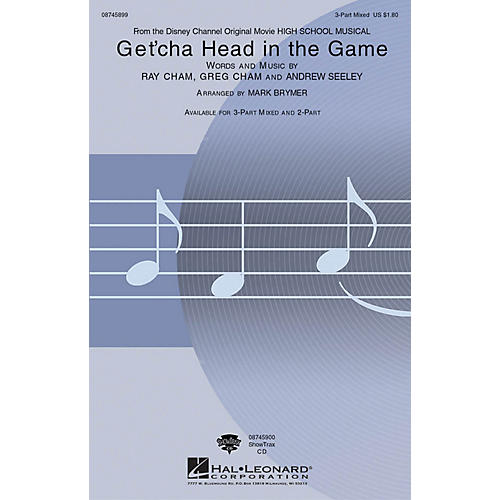 Hal Leonard Get'cha Head in the Game (from High School Musical) 2-Part Arranged by Mark Brymer