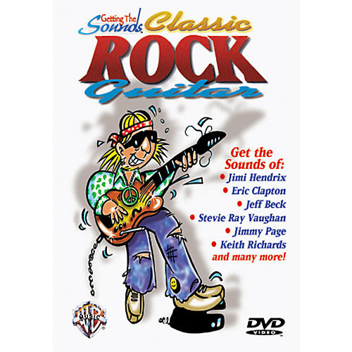 Alfred Getting The Sound - Classic Rock Guitar (DVD)