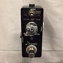 Donner Giant Metal Effect Pedal