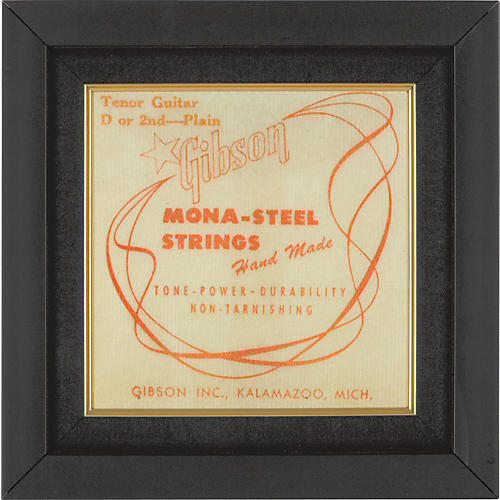 Gear One Gibson Mona Steel Guitar String Plaque