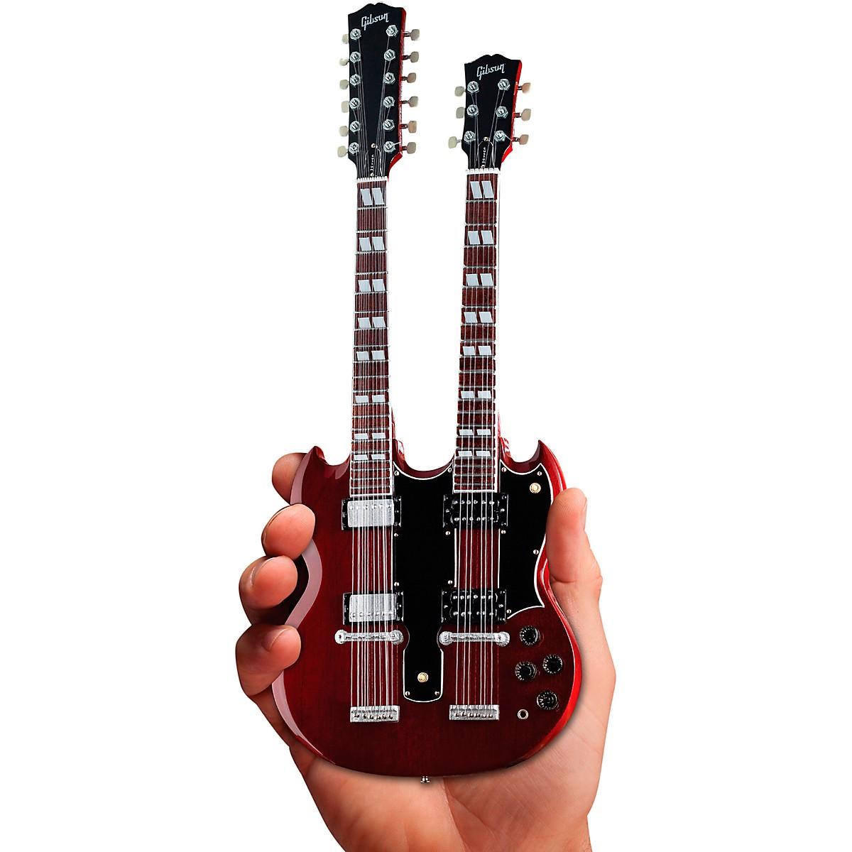 Axe Heaven Gibson SG EDS-1275 Doubleneck Cherry Officially Licensed Miniature Guitar Replica