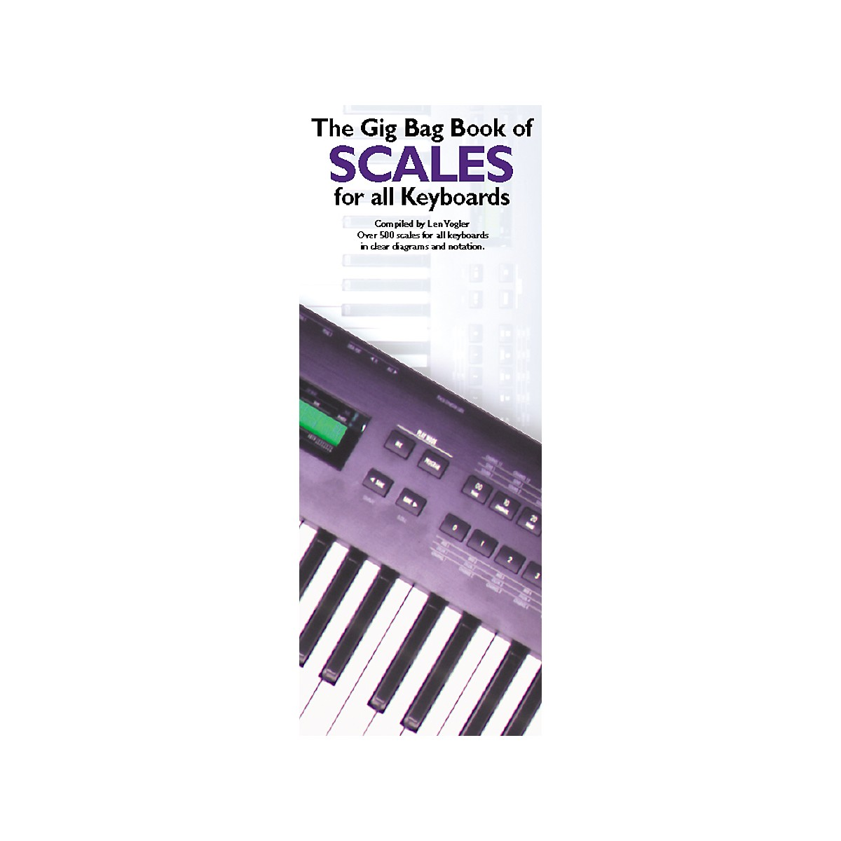 Music Sales Gig Bag Book of Scales for all Keyboards