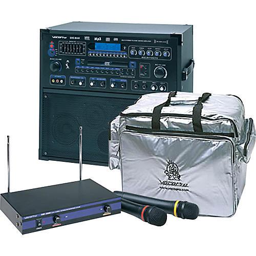 VocoPro Gig Man PRO II Karaoke Kit