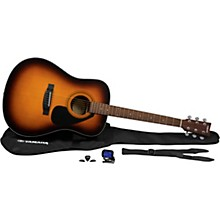 GigMaker Acoustic Guitar Pack Tobacco Brown Sunburst