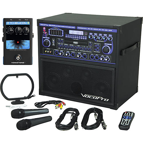 VocoPro Gigstar Karaoke System with VoiceTone C1 Pedal