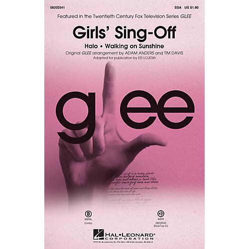 Hal Leonard Girls' Sing-Off (from Glee) SSA by Glee Cast arranged by Ed Lojeski