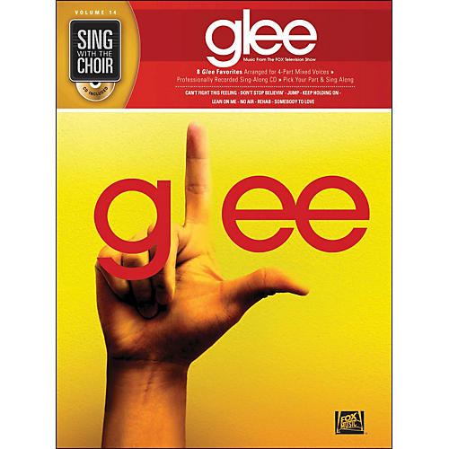 Hal Leonard Glee - Sing with The Choir Vol. 14 Book/CD