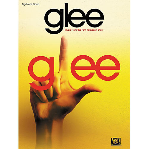 Hal Leonard Glee Music From The Fox Television Show For Big-Note Piano