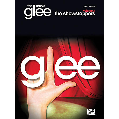 Hal Leonard Glee The Music - Volume 3 Showstoppers Easy Piano Songbook