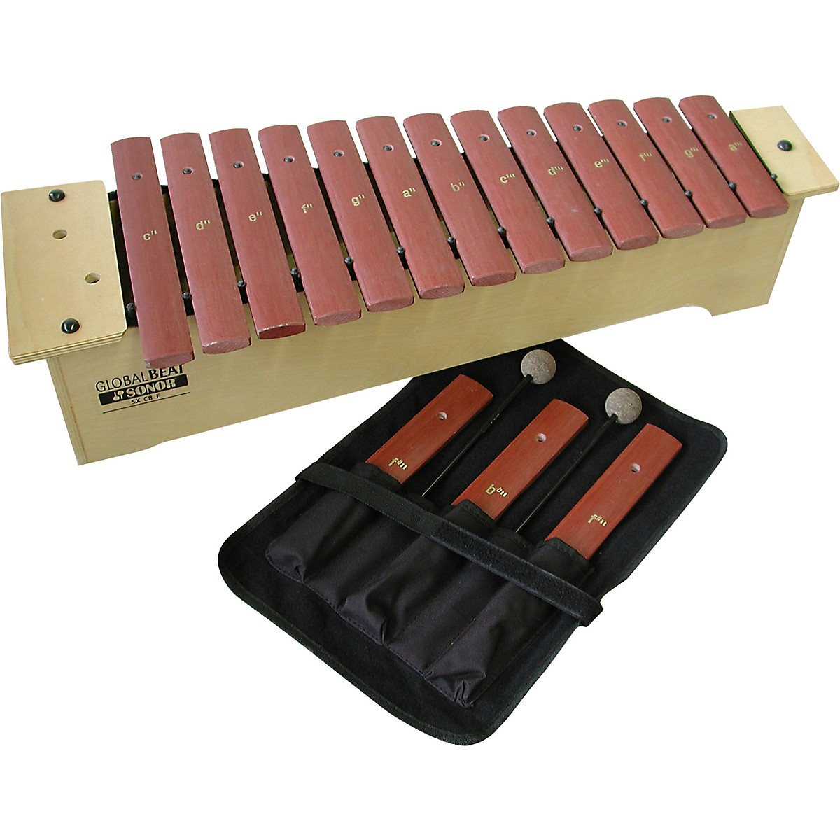 Sonor Orff Global Beat Soprano Xylophone with Fiberglass Bars