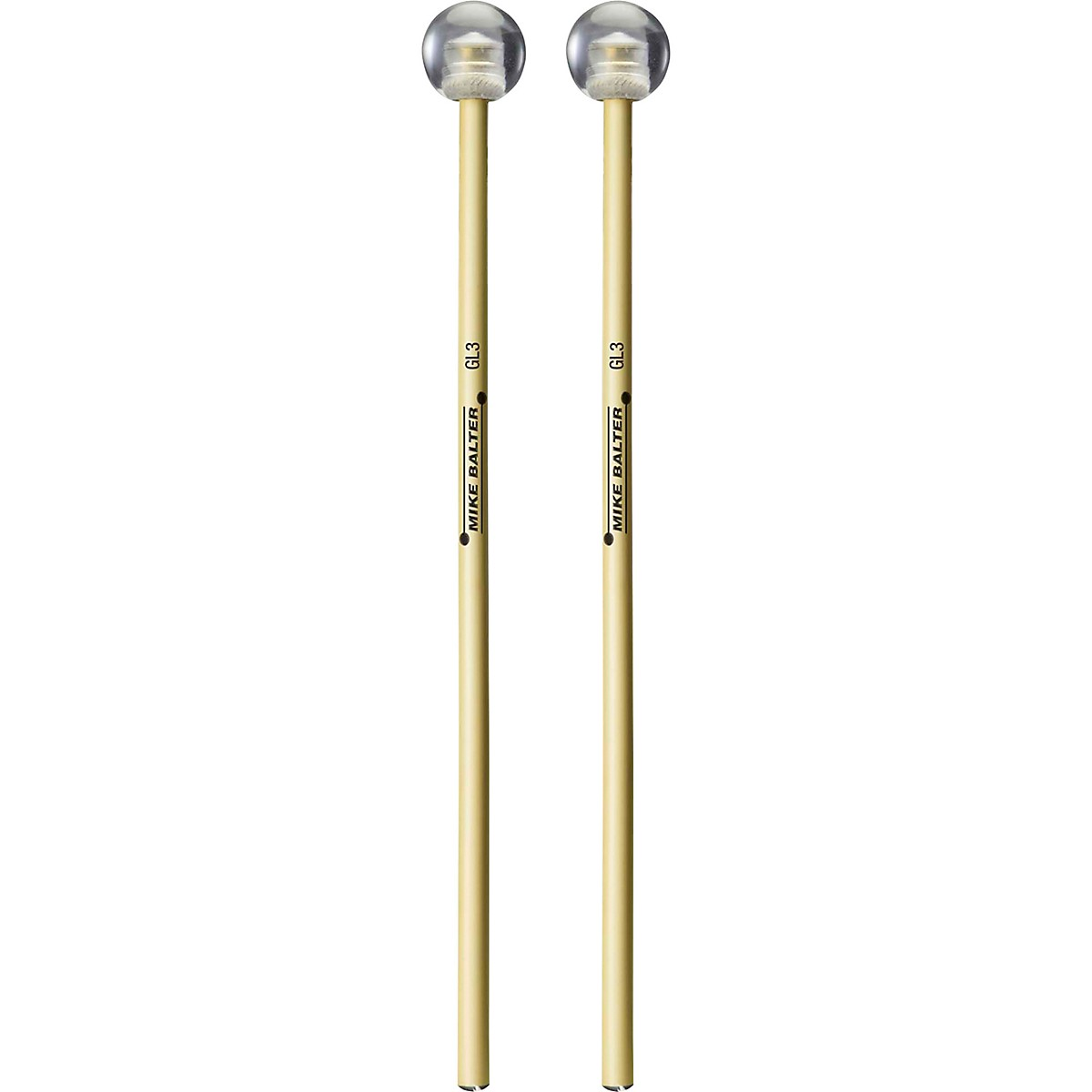 Balter Mallets Glock, Bell, and Xylo Series Rattan Handle Bell Mallets 1 1/8