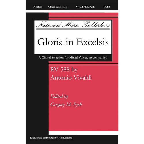 Fred Bock Music Gloria SATB composed by Antonio Vivaldi